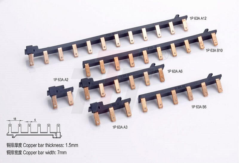 1P 63A Electrical Combinated Busbar GK701-63A