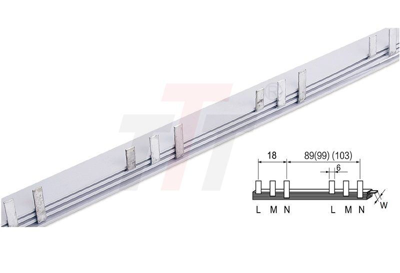 3P Busbar Connector with Leakage GK403
