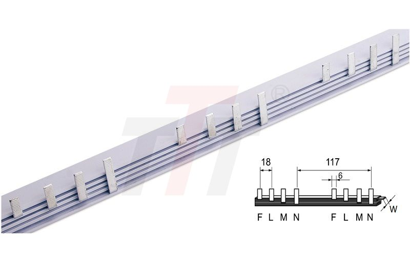 4P Electrical Busbar With Leakage GK404