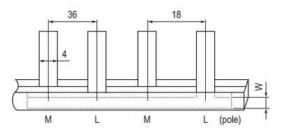 Pin Type Busbar GK102 Series