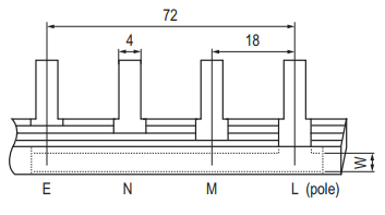 Pin Type Busbar GK104 Series